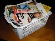 Junk mail basket