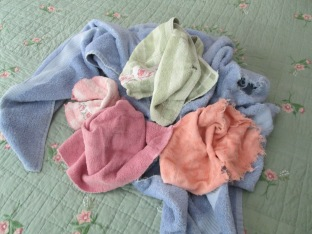 Shabby Towels