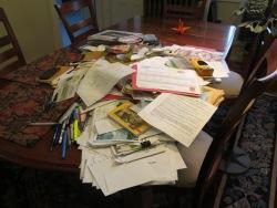 paper clutter