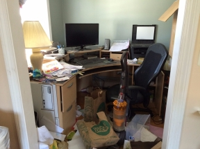 organizing your office. Cluttered Office Organizing Your