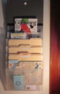 cascading organizing file holder
