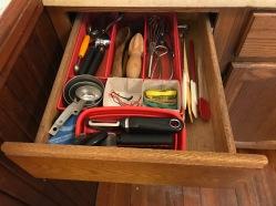 Organizd kitchen drawer